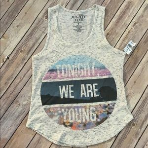 NWT Mighty Fine Tank Top